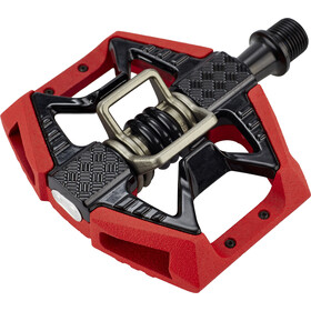 Crankbrothers Double Shot 3 Pedalen, black/red